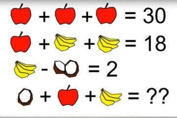 ¿Cuál es la solución del polémico problema viral de la fruta? Aquí la tienes 8