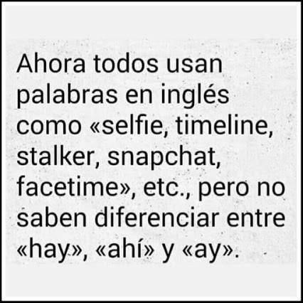 redes sociales inglés