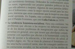 Piden la retirada de un libro de texto de Santillana por su polémica visión sobre el feminismo 6