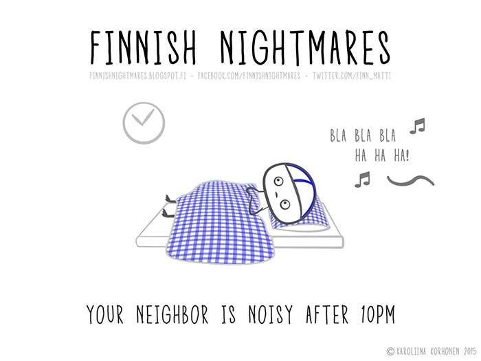 """""""Tu vecino hace ruido después de las 10 de la noche"""""""