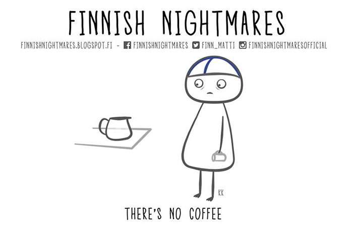 """""""No hay café"""""""