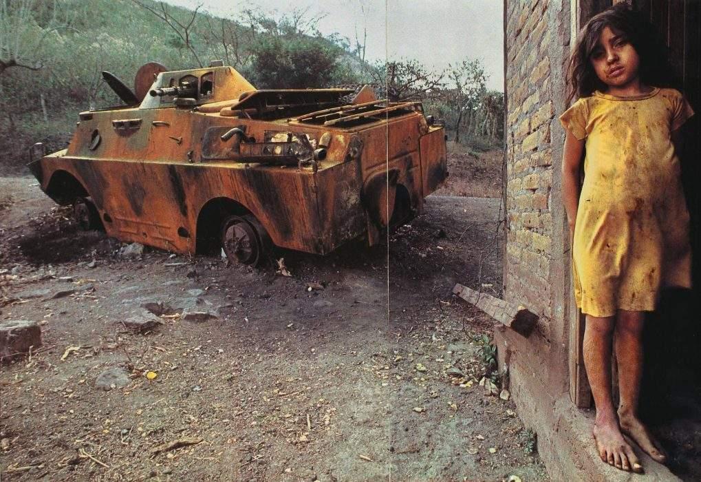 Fotografías del conflicto en Nicaragua por James Nachtwey [Foto: Kelly Short vía Flickr]