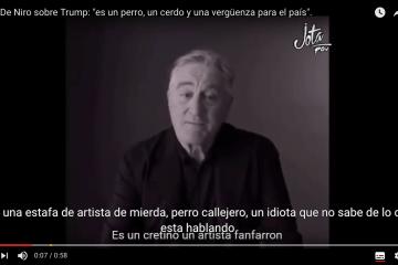 """Robert De Niro: """"Quiero golpear la cara de Donald Trump"""". ¿Excesivo o necesario para movilizar el voto dormido? 10"""