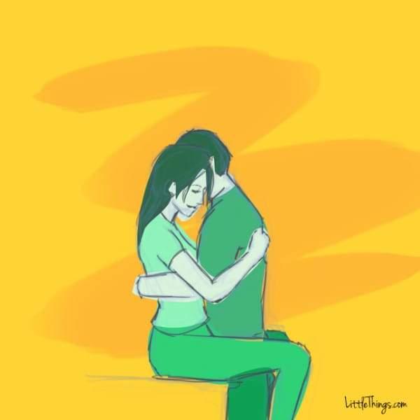 Abrazo que vuela