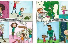 Por si alguien dudaba, este cómic te recuerda que los padres y madres son superhéroes... del humor 14
