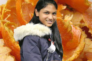 Con solo 16 años esta chica puede ayudar a solucionar la sequía mundial usando naranjas 6