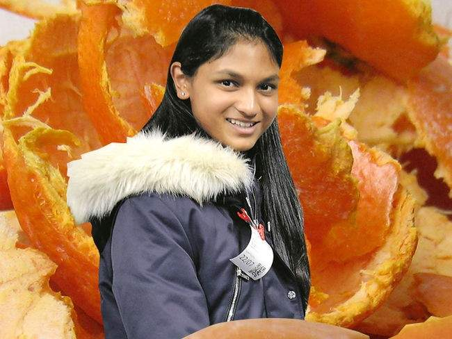 Con solo 16 años esta chica puede ayudar a solucionar la sequía mundial usando naranjas 2