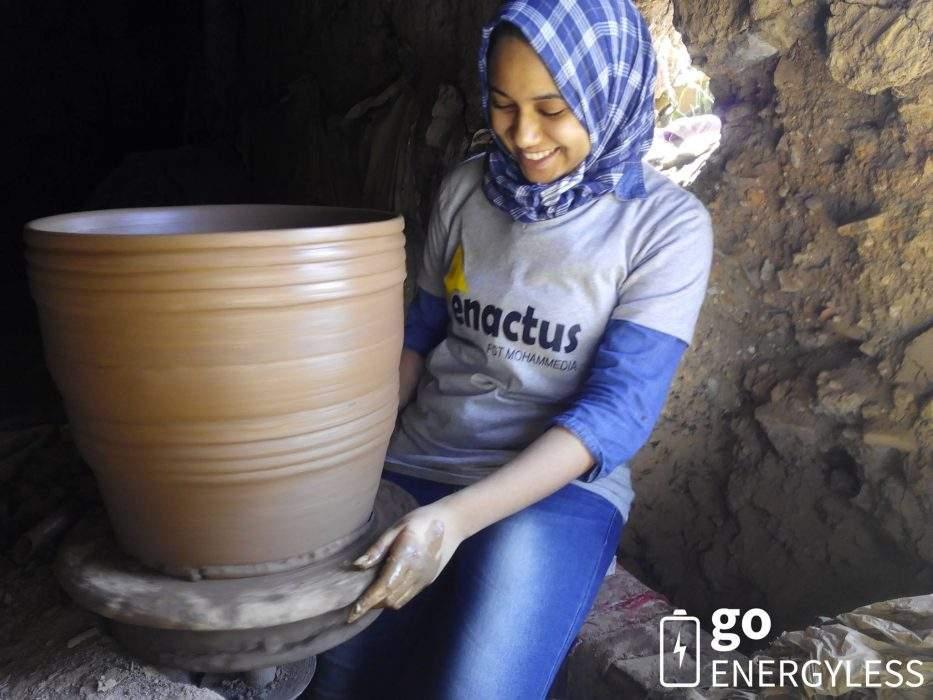 Una joven marroquí rediseña frigoríficos que no necesitan electricidad 1