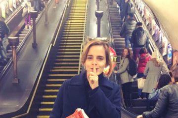 Emma Watson esconde libros feministas en el metro de Londres 8