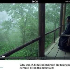 Por qué algunos chinos milenial optan por vivir como ermitaños en las montañas 4