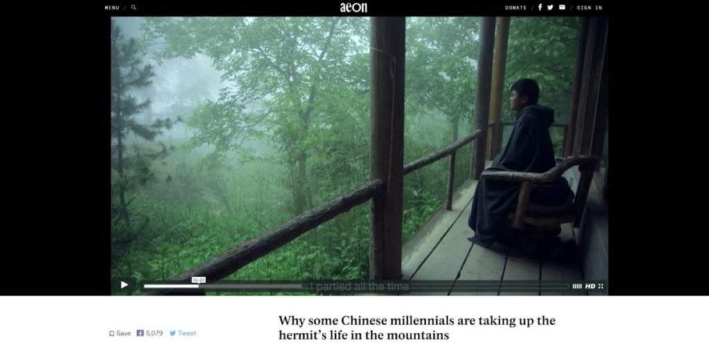 Por qué algunos chinos milenial optan por vivir como ermitaños en las montañas 1