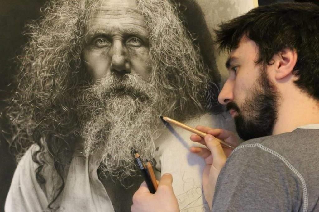 Pintar con técnicas renacentistas cuadros que parecen fotografías 2