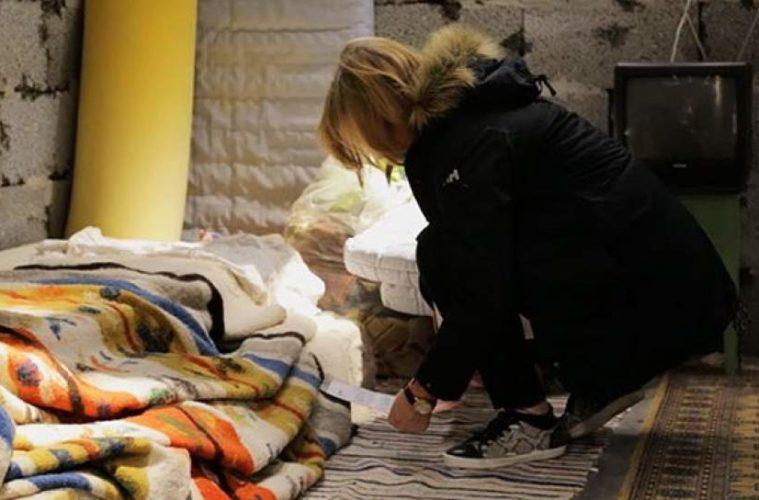 Ikea reproduce en una de sus tiendas cómo es una habitación para un refugiado sirio 2