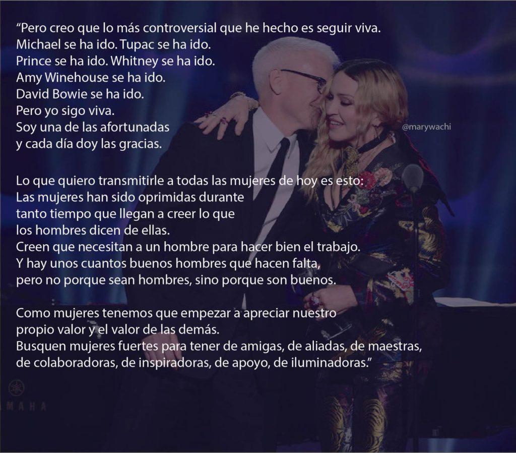 El último discurso de Madonna incendia las redes: la 'mala feminista' apuesta por la sororidad 3