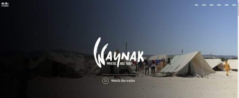Waynak: la primera serie web sobre proyectos ciudadanos con refugiados 2