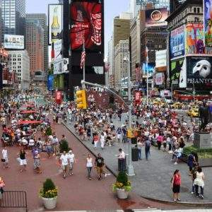 """""""Las calles son para los peatones, no para los autos"""". La estrategia para humanizar las calles en NYC 1"""