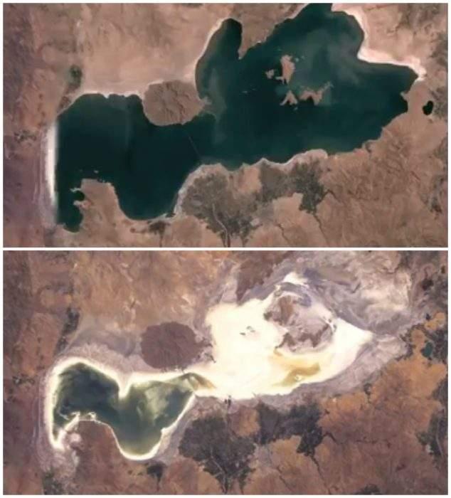 El Mar Muerto iraní se está quedando sin agua. Y el siguiente en 'morir' puede ser el Mediterráneo. 1