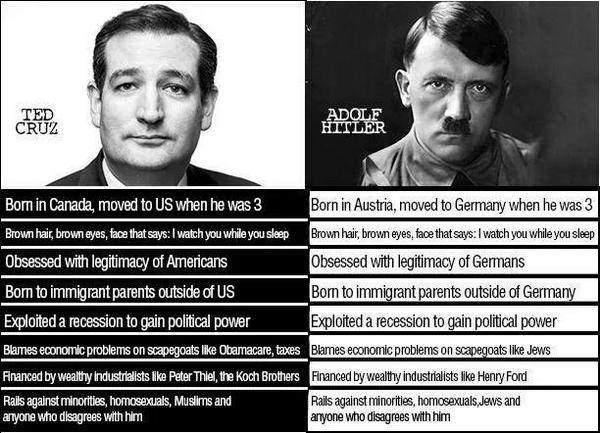 La ley de Godwin o el peligro de comparar a Trump o cualquier otro político con Hitler y/o a los nazis 3
