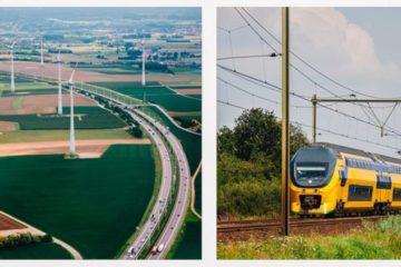 Descubre el primer país del mundo con trenes 100% eólicos 12