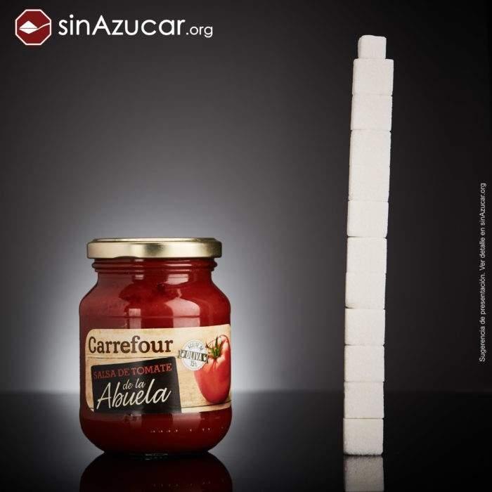 Un proyecto fotográfico muestra cuánto azúcar hay realmente oculto en nuestra comida 4