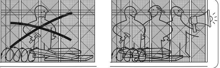 """BORDERless: ¿y si las vallas y fronteras pudieran """"desmontarse"""" como un mueble de IKEA? 1"""