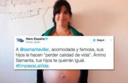 La marca Hero incendia las redes con un tuit hacia la «acomodada y famosa» Samanta Villar 18