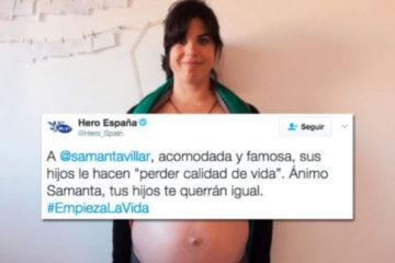 La marca Hero incendia las redes con un tuit hacia la «acomodada y famosa» Samanta Villar 15