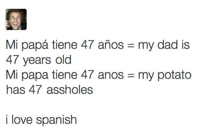 La prueba definitiva de que el español es el idioma más complejo del mundo. ¡Demostrado! 12