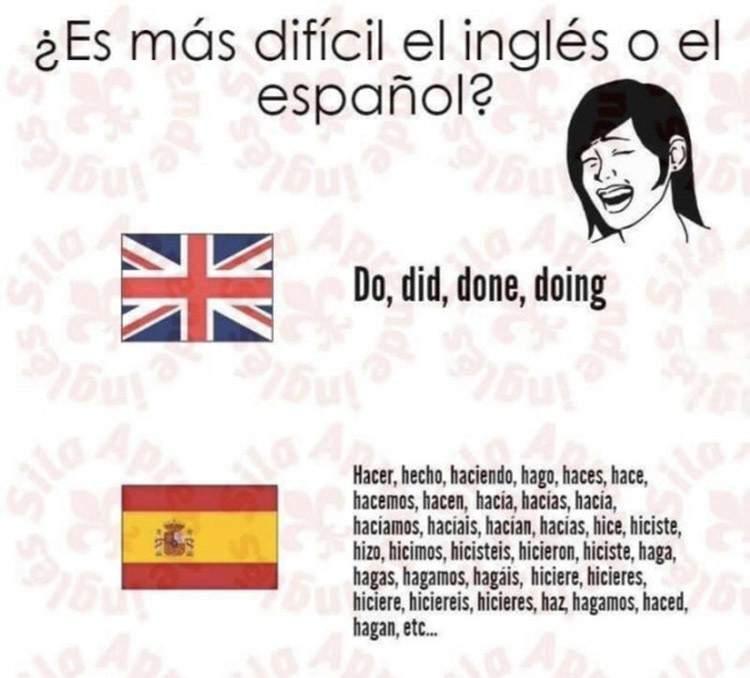 La prueba definitiva de que el español es el idioma más complejo del mundo. ¡Demostrado! 13