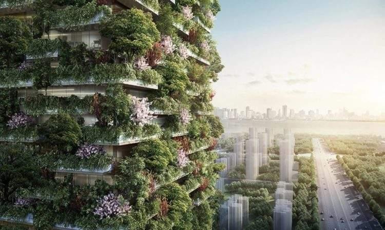 Bosques verticales en China, el plan para mejorar la calidad del aire 2