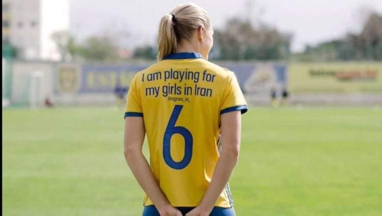 Las jugadoras suecas cambian los nombres de sus camisetas por importantes mensajes para ti 1