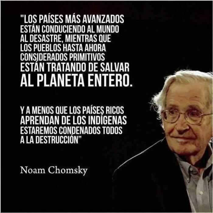 """Noam Chomsky sobre la crisis actual: """"Es el momento de enseñar a los niños a entender el mundo"""" 2"""