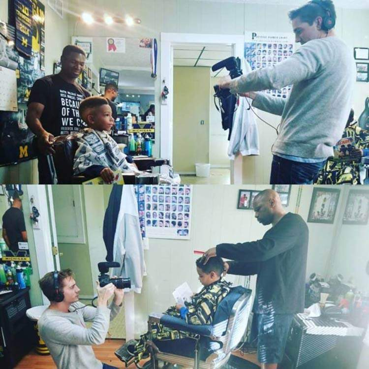Inspiradora iniciativa de una peluquería que hace descuento a los niños que hacen esto 3
