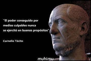 18 frases de Tácito sobre el poder y la política 12