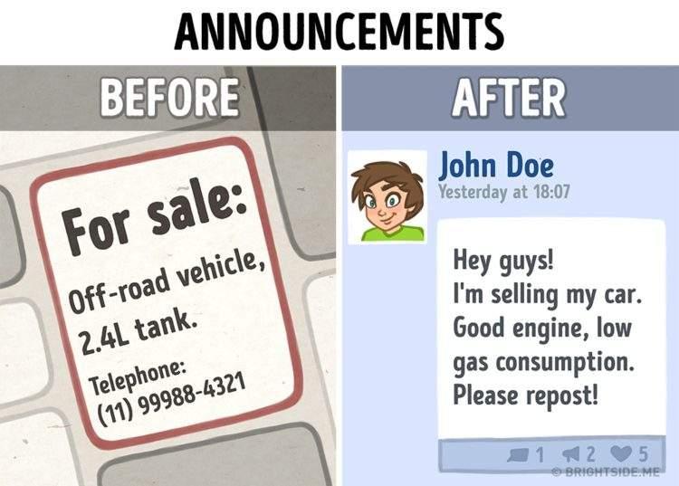 10 ilustraciones sobre cómo internet ha cambiado nuestra vida 2