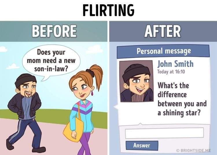 10 ilustraciones sobre cómo internet ha cambiado nuestra vida 10