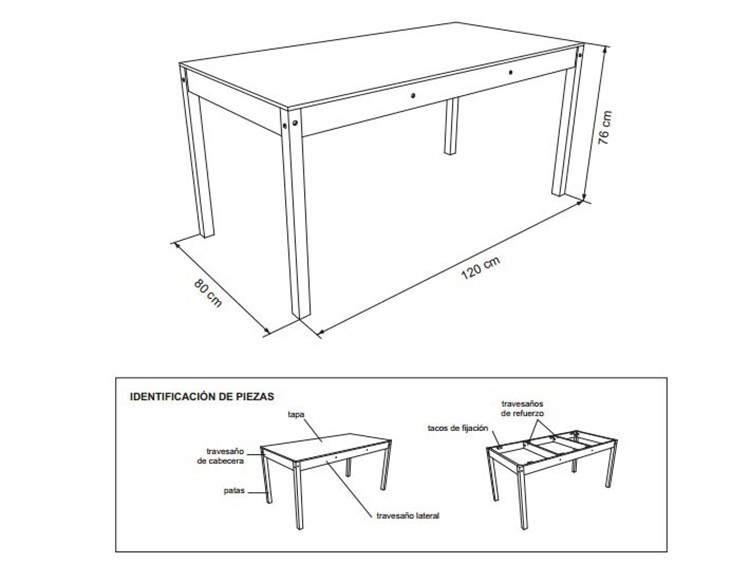 DIY: Planos para armar muebles de madera 9