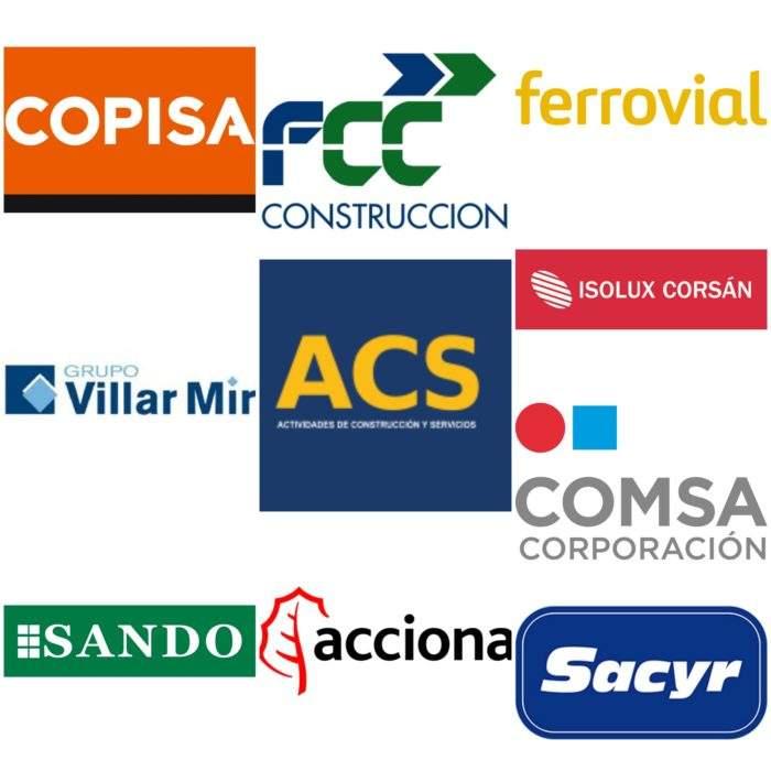 Descubre las 10 constructoras detrás del 70% de todas las obras públicas adjudicadas en España 3