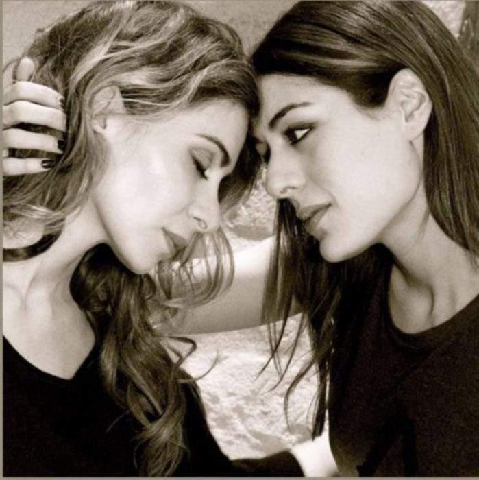 Emotivas fotografías de parejas de famosos creadas por Ciappa en su lucha contra la homofobia 3