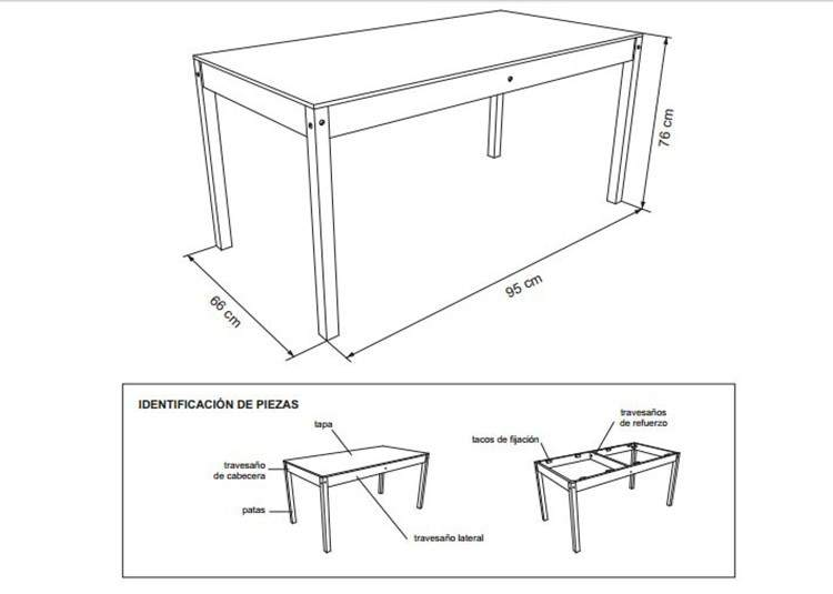 DIY: Planos para armar muebles de madera 2