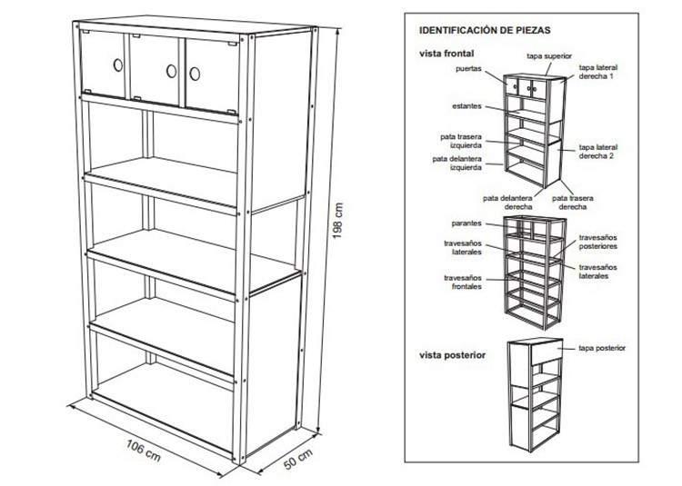 diy planos para armar muebles de madera