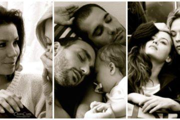 Emotivas fotografías de parejas de famosos creadas por Ciappa en su lucha contra la homofobia 6