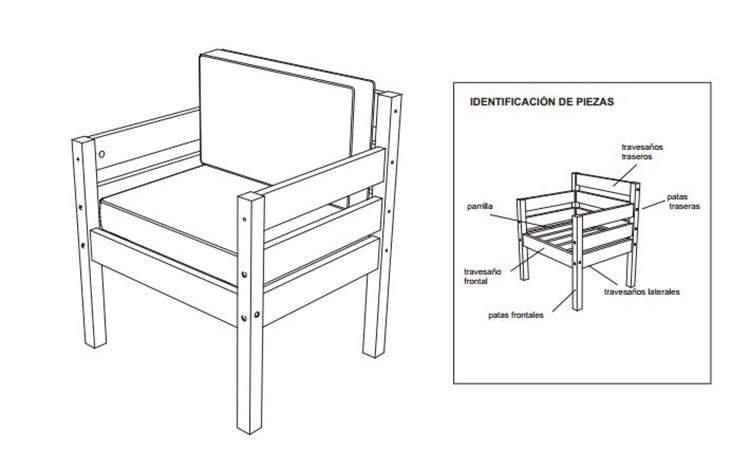 DIY: Planos para armar muebles de madera 4