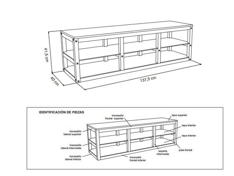 Diy planos para armar muebles de madera for Planos muebles madera