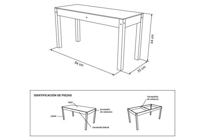 DIY: Planos para armar muebles de madera 3