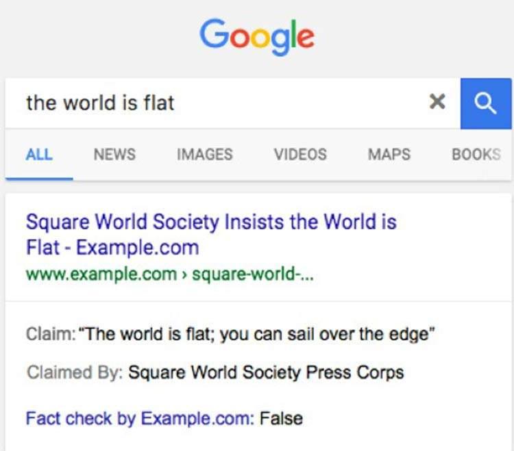 El buscador de Google ya te permite marcar qué noticias son falsas 3
