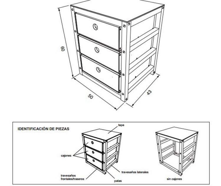 DIY: Planos para armar muebles de madera 6