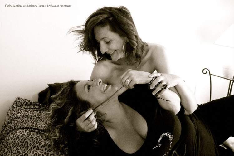 Emotivas fotografías de parejas de famosos creadas por Ciappa en su lucha contra la homofobia 7