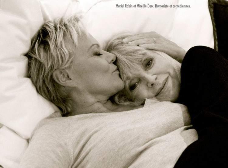 Emotivas fotografías de parejas de famosos creadas por Ciappa en su lucha contra la homofobia 9