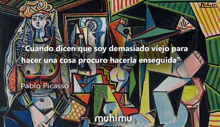 18 frases de Picasso sobre la libertad, la niñez, la juventud, el trabajo y la vida 7